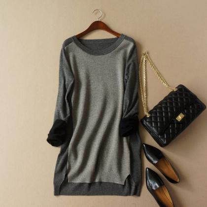 Spell color wool blend pullover NM1..