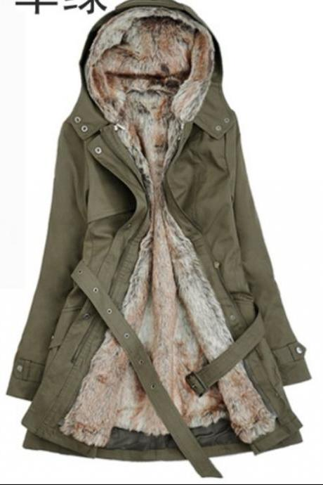 Cool Coat in Army Green